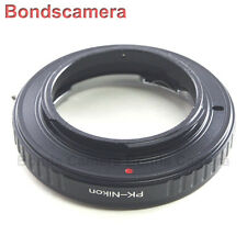 Macro Confirm Pentax K PK lens to Nikon F mount Adapter Camera D800 D5200 D7100
