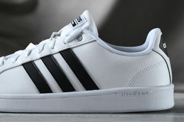 Adidas Neo cloudfoam Advantage stripe men's shoes