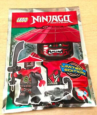 LEGO SET NINJAGO POLYBAG FIGURINE MINIFIG NINJA LE PHOENIX DE FEU ACCESSOIRE