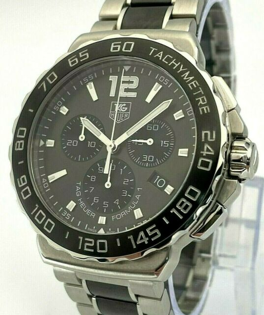 Tag Heuer Formula One Chronograph Gents Watch CAU1115 2015 Box And Papers 2015