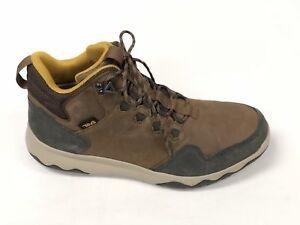 77b8609c9ea2 Teva Men s Arrowood Lux Mid Chukka Waterproof Hiking Boots Brown ...