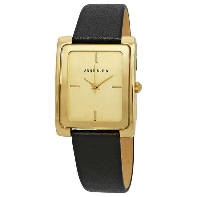 Anne Klein Champagne Dial Ladies Watch 2706CHBK