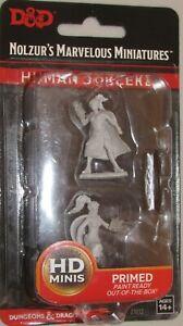 HUMAN SORCERER female Nolzur's Marvelous Miniatures Unpainted D Dungeons Dragons