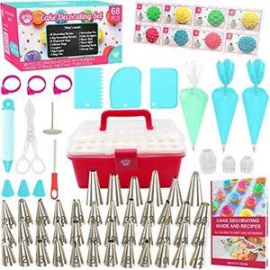 Cake Decorating Kit Cupcake - 68pcs Cookie Supplies And ...