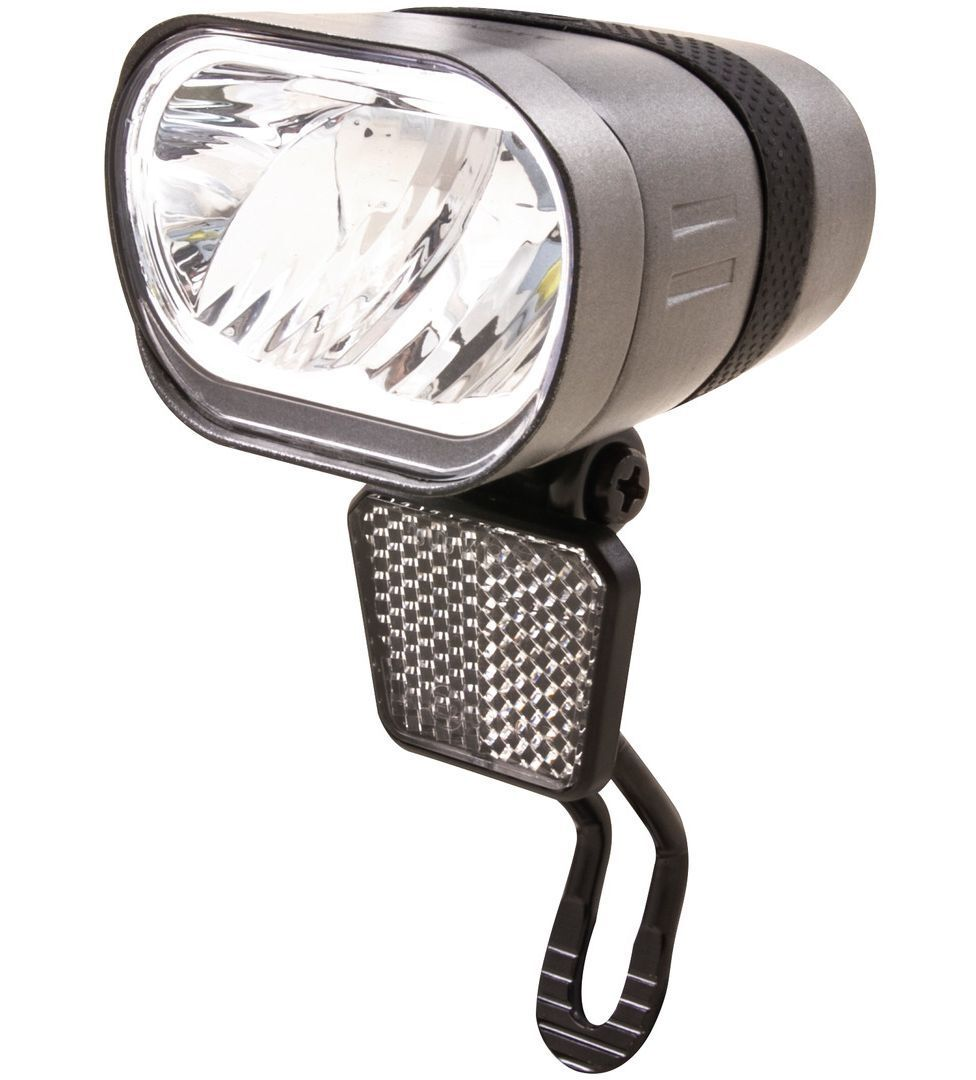 SPANNINGA Fahrrad LED-Scheinwerfer  Axendo XDAS  60 Lux,Tagfahr Standlicht Auto