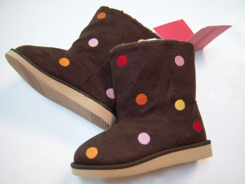 NWT Gymboree Fall For Monkeys Polka Dot Boots 6 06 for 18-24 months