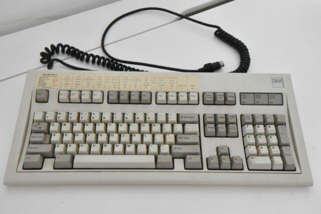 IBM 1390131 PC AT  ENHANCED CLICKY MODEL M BUCKLING SPRING KEYBOARD 16JUL86