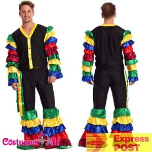 b6d49e997dd1 Mens Latin Rumba Costume Salsa Mardi Gras Mexican Spanish Flamenco ...