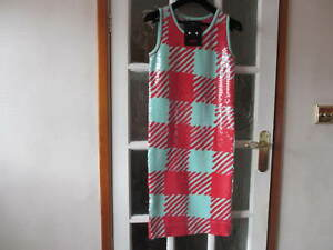m S Size Sister Giant Women's By Dress Sibling Sequin Gingham q18zP17