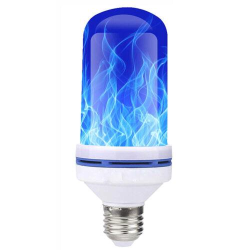 Ampoule Halloween Maison E27 Nature Feu Décoration 4 Modes LED Flamme