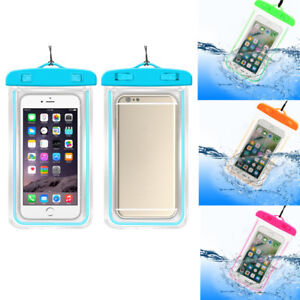 timeless design 17b50 f3f7f Details about Waterproof Underwater Case Cover Bag Dry Pouch for Mobile  Phone iPhone Android