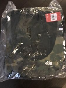1465fed0 Image is loading Supreme-The-North-Face-Waterproof-Backpack-SS17-Green-