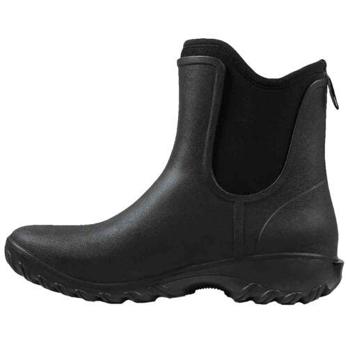 Ladies Sauvie On Lightweight 72203 Bogs Warm Boot Isolert Black Slip Wellies qfUP1rx4qw