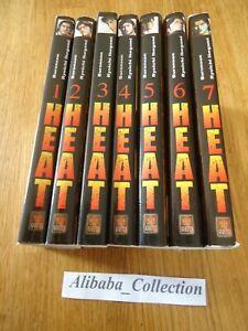 Lote-Manga-VF-Heat-1-2-3-4-5-6-7-Buronson-Ryoichi-Ikegami-Kabuto