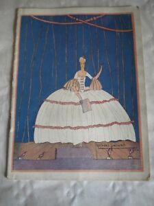 Periods & Styles Pre-1940 Sincere Vintage Programme La Revue De Marigny 1922 Robert Polack Art Deco Cover