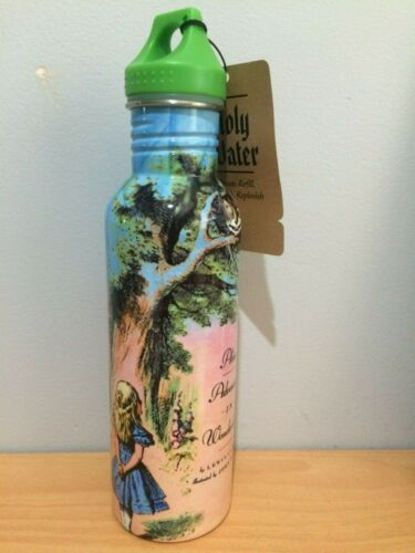 """Alice in Wonderland /""""You/'re Mad/"""" Stainless Steel Water Bottle"""
