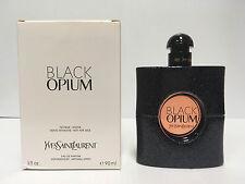 BLACK OPIUM by YSL 3.0 OZ 90 ML EAU DE PARFUM SPRAY NEW WHITE BOX~TSTER