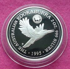 1995  KOOKABURRA 2oz 1935 FLORIN PRIVY MARK  SILVER PROOF $2 COIN