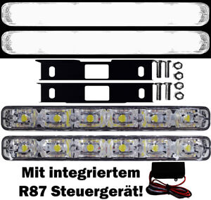 led tagfahrleuchten t v tagfahrlicht 6smd steuerger t. Black Bedroom Furniture Sets. Home Design Ideas