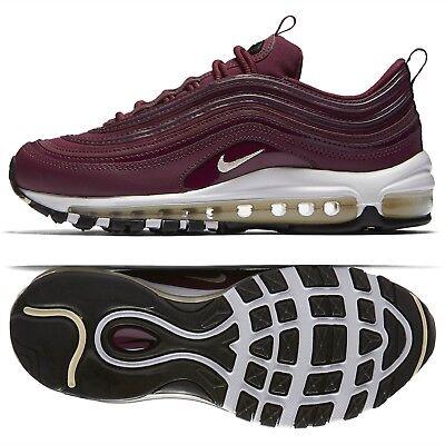 low priced a2cde a30ca Nike WMNS Air Max 97 Premium 917646-601 Bordeaux/Black/Muslin Women's Shoes