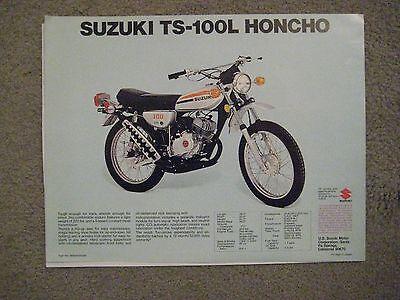 $6.50 Reprint 1970 Suzuki AC-50 Maverick 49cc  motorcycle sales brochure,