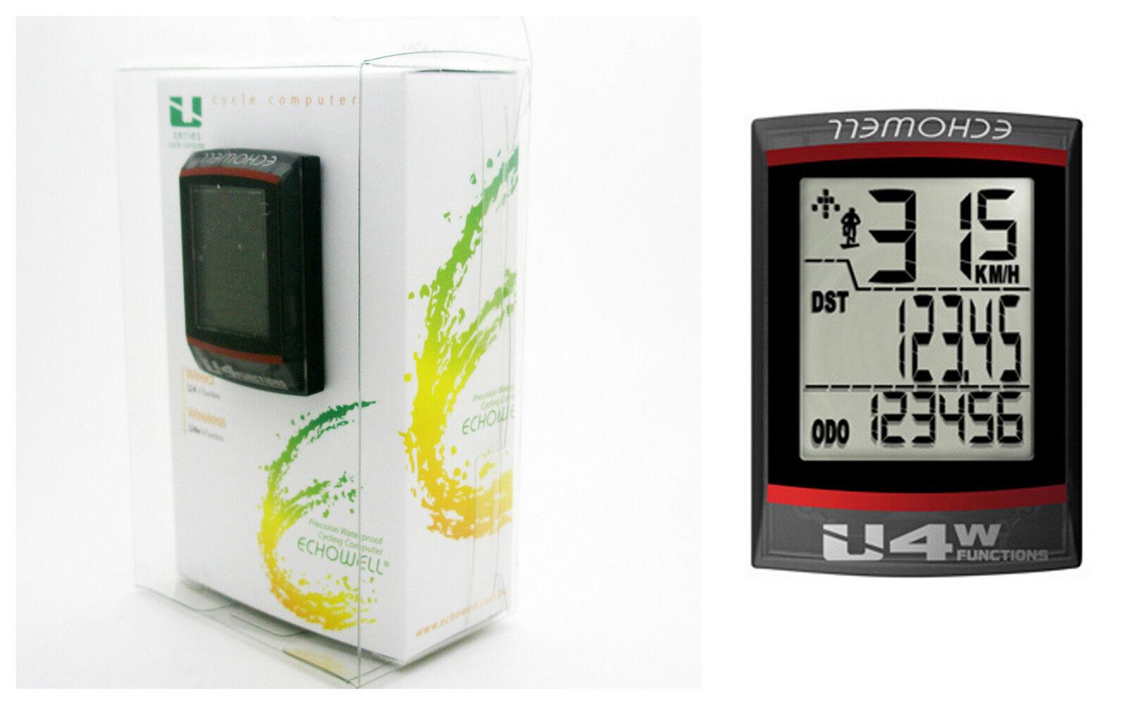 Cuentakilometros Ciclocomputador Multifuncion Pantalla LCD 4F Bicicleta 3188ng