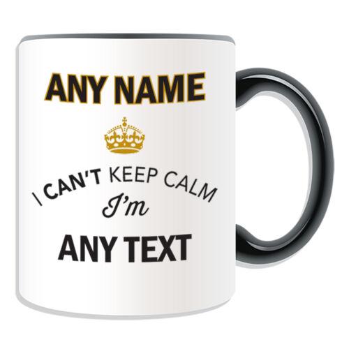 Cadeau personnalisé ne peut pas garder son calme je suis tasse tirelire tasse nouveauté drôle de mariage