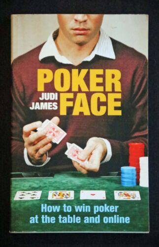 1 of 1 - Judi James - Poker Face mental game of poker psychology stress body language +