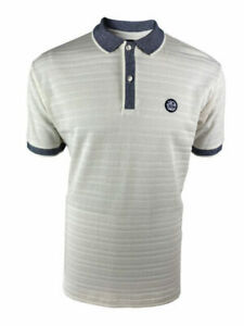 Navy Trojan Records Clothing TC1010 Tipped Pique Polo Ska,Soul,Mod,Scooter