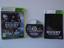 Jonah Lomu Rugby Challenge - Jeu XBOX 360 - Complet avec sa Notice