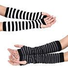 Fashion Unisex Gloves Winter Arm Hand Warm Knitted Long Fingerless Gloves Mitten