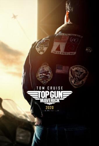 "Top Gun Maverick Poster 48x32/"" 40x27/"" 36x24 Tom Cruise 2020 Comic Con Print Silk"
