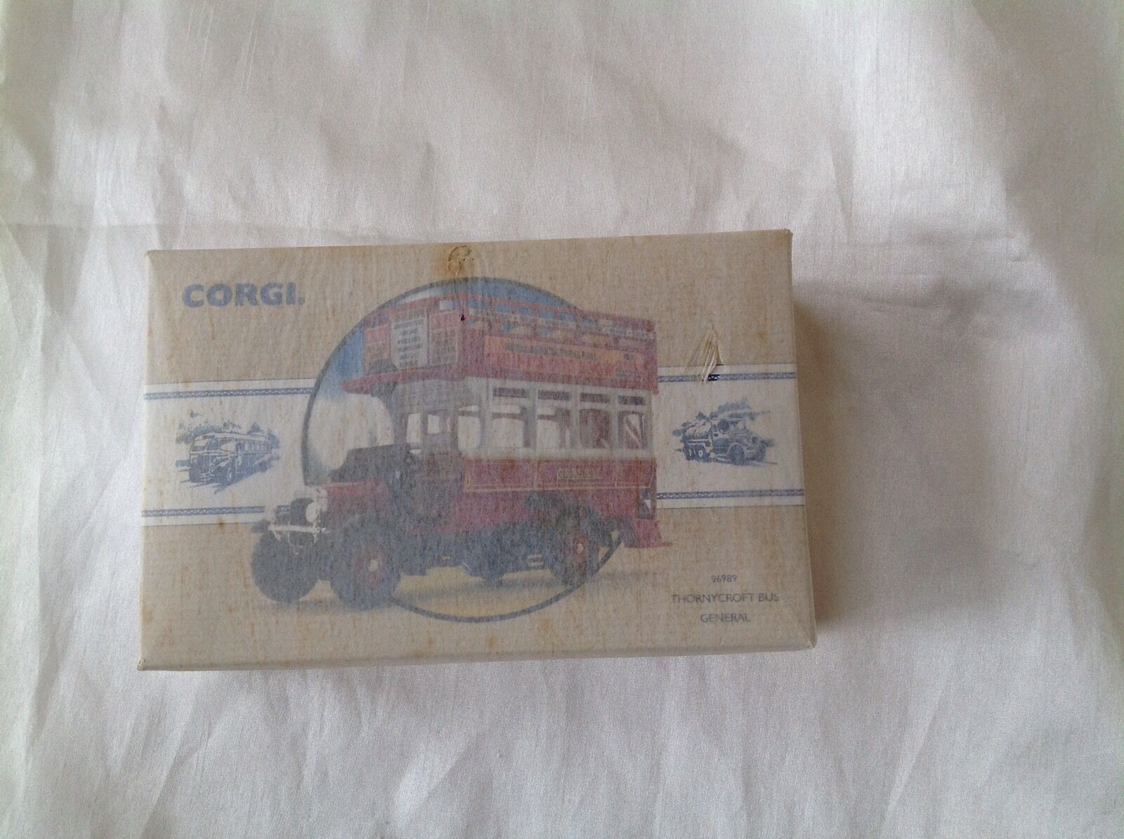 Corgi New Toy Model 96989 Thornycroft Bus General NEVER OPENED TISSUE PAPER