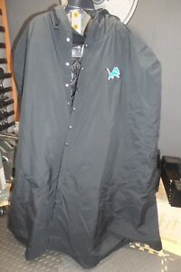 best loved 968fc e9d7b Details about NIKE NFL Team Issued Detroit Lions Sideline Cape Parka Men's  sz 2XL XX-Large