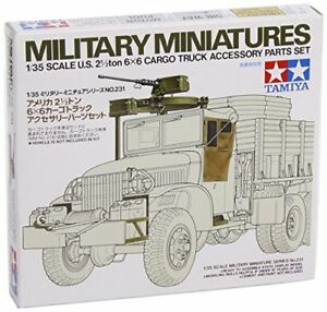 Details about TAMIYA 1/35 U S  2 2/1Ton 6X6 Cargo Truck Accessory Parts Set  Kit NEW from Japan