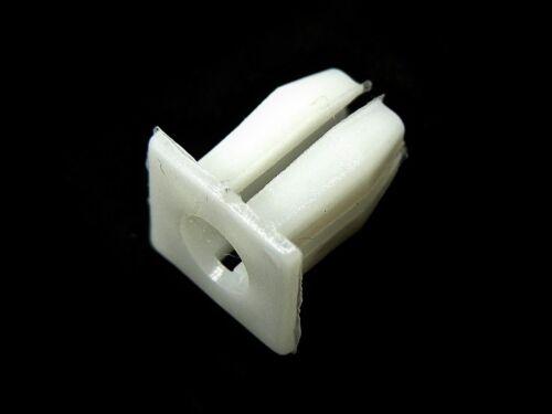 etc.- Qty.25- #089 Grille Trim Chevy Nylon Trim Screw Nuts- Headlight Bezel