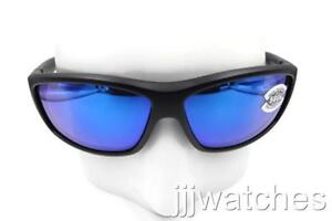 4c5617c828a New Costa Del Mar Saltbreak Black Blue 580G Polarized Sunglasses BK ...