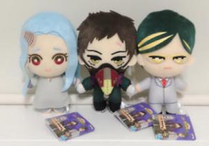 My-Hero-Academia-Plush-Doll-Stuffed-toy-3-set-overhaul-Eri-Sir-Night-Eye-JAPAN