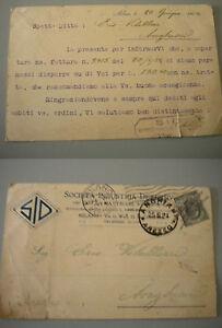 CARTOLINA-Post-Card-viaggiata-1924-da-Milano-ad-Anghiari