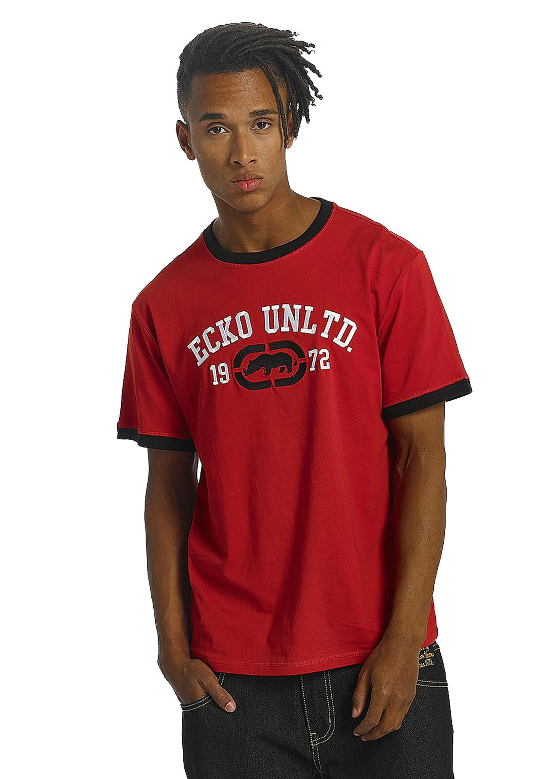 Ecko Unltd T-Shirt Uomo Primo Viale T-Shirt rosso Red
