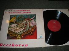 KARL HAAS & LONDON BAROQUE ENSEMBLE BEETHOVEN WIND MUSIC-UK RED PYE CCL30133