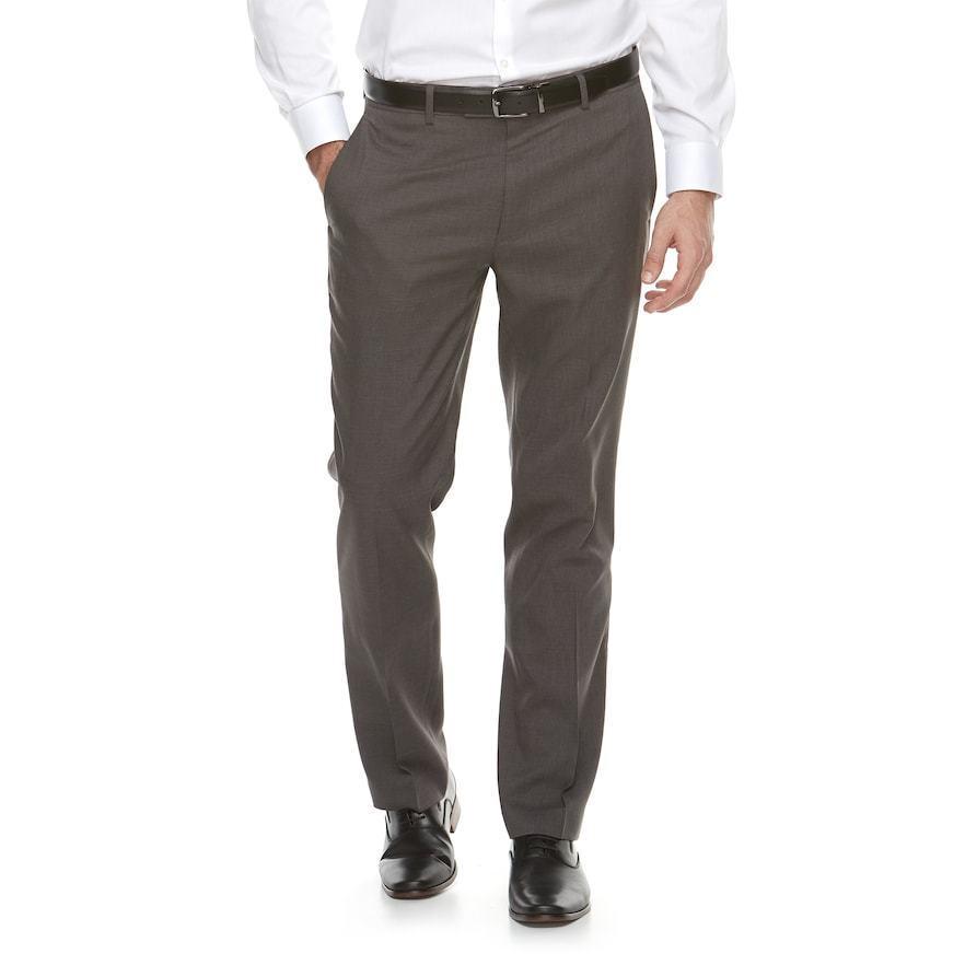 Men's Apt. 9 Slim-Fit Premier Flex Dress Pants SAPT15301R Graphite Sz.36x30