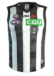 Collingwood-Magpies-AFL-2017-ISC-Anzac-Day-Guernsey-Adults-amp-Kids-Sizes