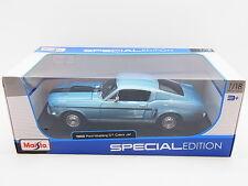 LOT 17166 | Maisto 31167 1968 Ford Mustang GT Cobra Jet Die-Cast 1:18 NEU in OVP
