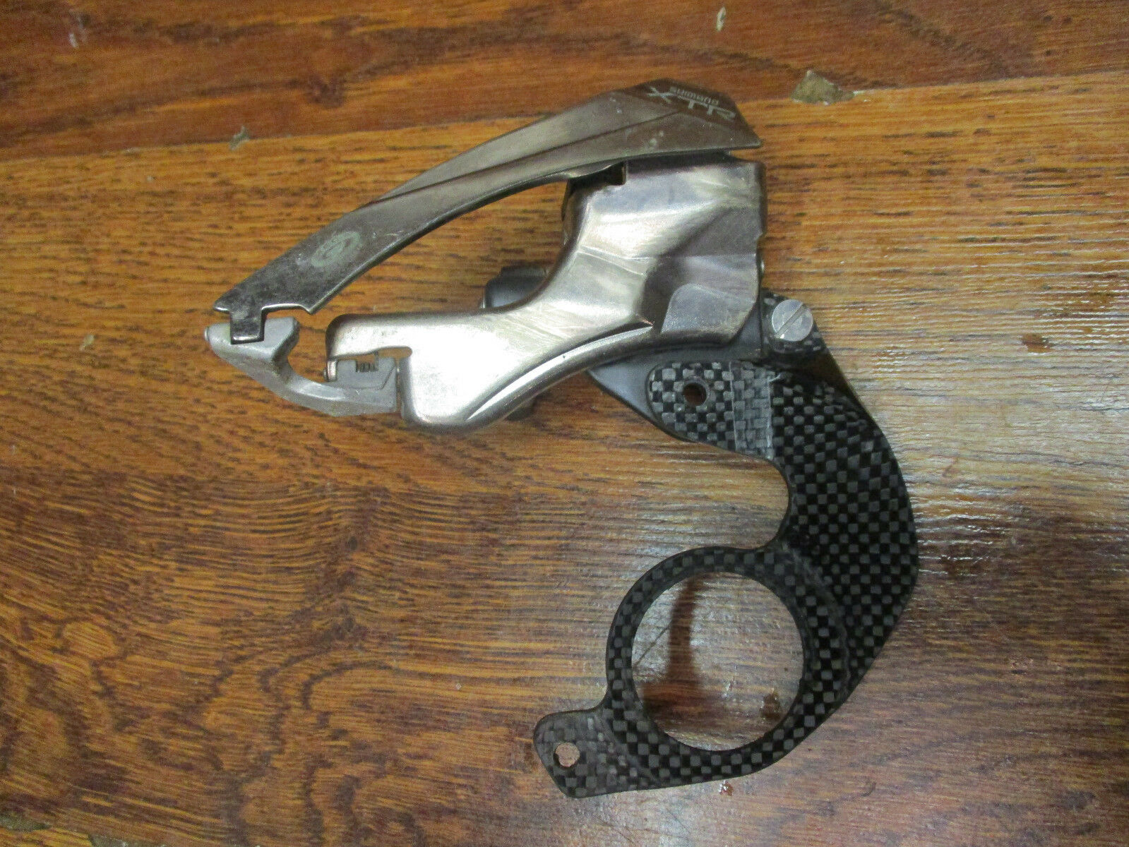 NOS SHIMANO XTR FD-M952 MEGA 9 TRIPLE BB MOUNT  TOP PULL FRONT DERAILLEUR  best offer