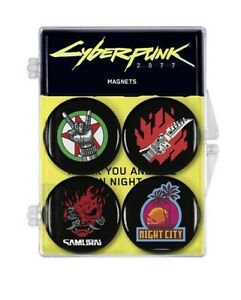 Cyberpunk-2077-Magnete-4er-Set-3-cm-Dark-Horse