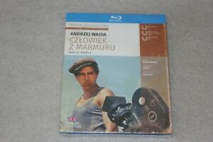 Człowiek z marmuru Blu-ray - Wajda Andrzej NEW ENGLISH SUBTITLES Man of Marble
