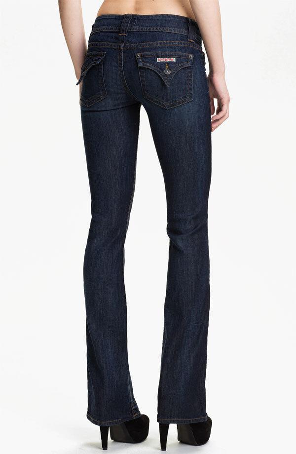 NWT HUDSON MERTON Signature Boot Cut Jeans 30 BRAND NEW  - DARK blueE W170DGC