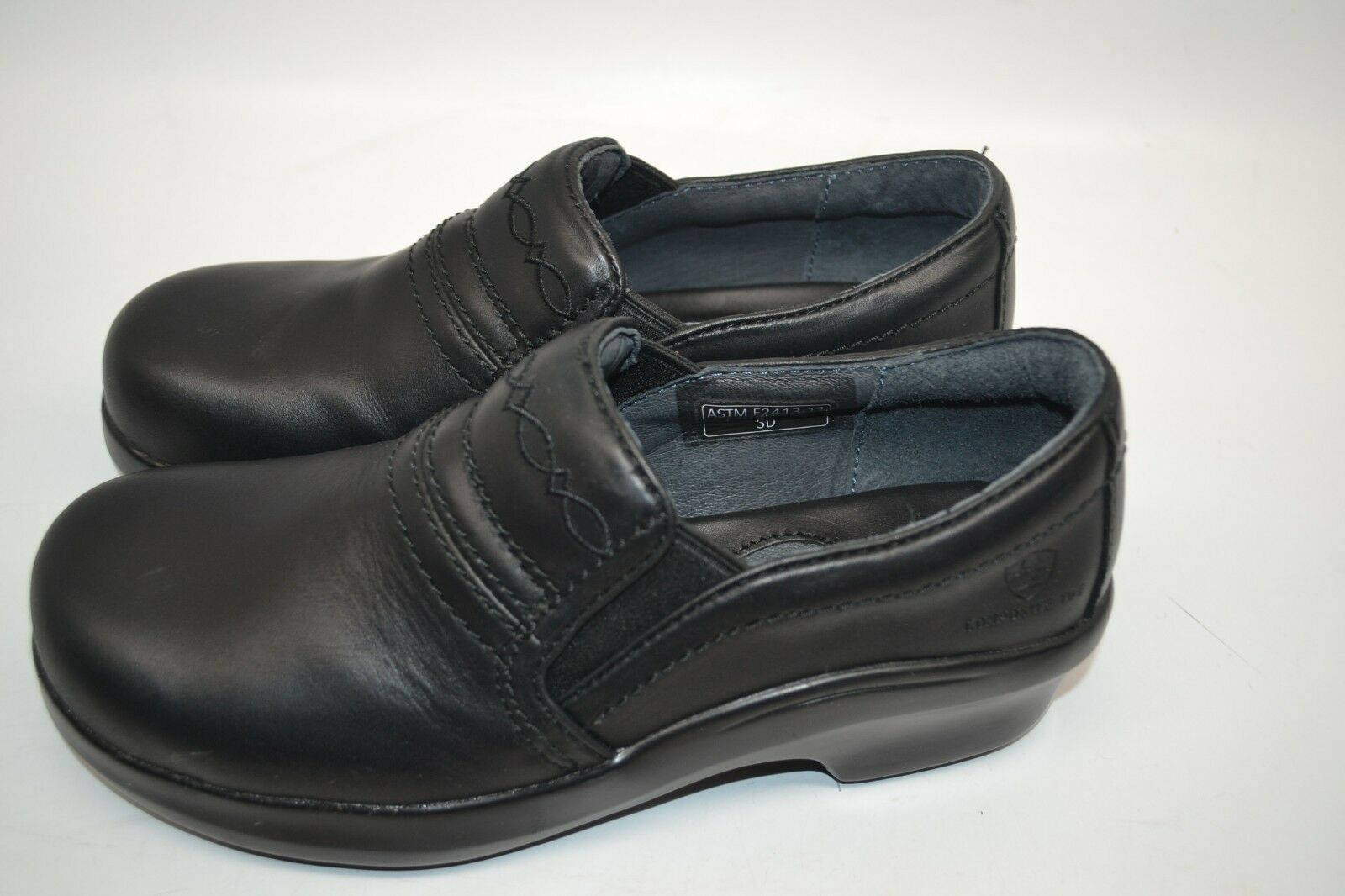 Ariat 10011976 Expert Safety Clog Round schwarz Safety Toe ESD ESD ESD Work schuhe 8 C WIDE 2b96d6