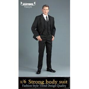 VORTOYS 1//6 V1022C Gentleman Suit Clothes Toy Fit 12/'/' Male Action Figure Body